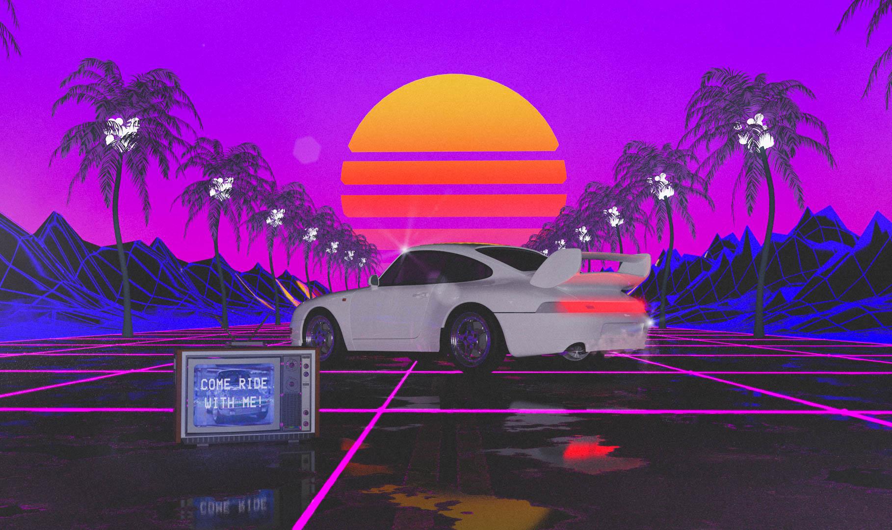 80s Porsche